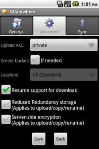 S3Anywhere - Amazon S3 file manager and folder sync for Android
